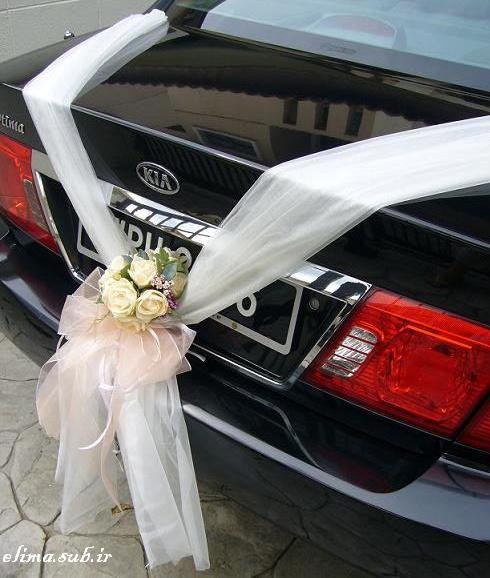 عکس+ماشین+عروس+زیبا